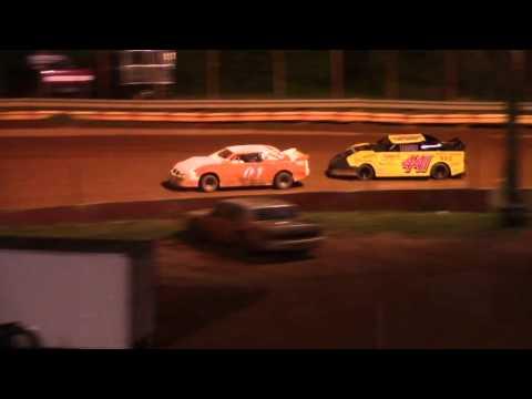 Winder Barrow Speedway Stock Four Cylinders Race 4/2/16