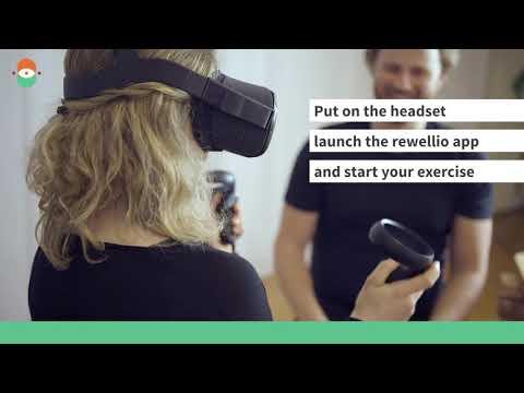 Rewellio launches stroke rehabilitation on Oculus Quest VR
