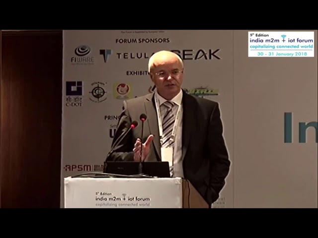 Mr Ulrich Ahle, CEO - FIWARE Foundation (Plenary Session)