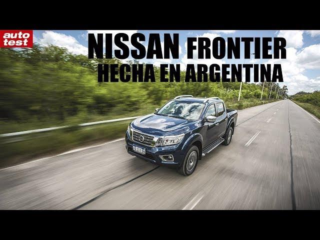 Prueba: Nissan Frontier Argentina