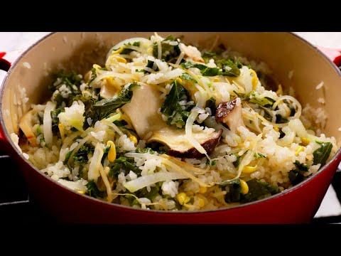 healthy-vegetable-rice-bowl-(1-pot-vegan-meal:-건강식-영양밥)