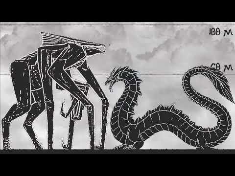 Monsterverse - Size Comparison