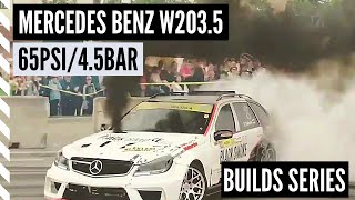 MercedesBenz W203.5 CDI Monster (Black Smoke Racing) - Builds Series