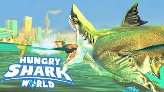 Hungry Shark World Ep 6 - MEGALODON UNLOCKED! MEGALODON VS EVIL MEGALODON!