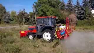 Opryskiwacz Biardzki 200L KUBOTA GL 241 traktorek japoński.www.traktorki-japonskie.waw.pl