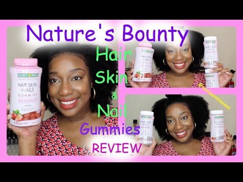 Nature's Bounty Hair, Skin, & Nails Gummies Review ║ResilientnBlessed