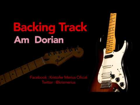 Am Dorian Backing Track