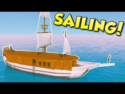 Ylands - LARGE SHIP SAILING! - Ylands Multiplayer Gameplay & Exploration