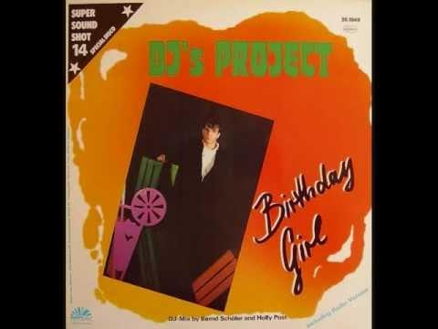 DJ's PROJECT - Birthday Girl (Side-B Dub Version) (1986)