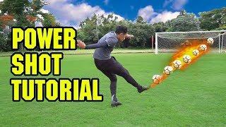 Cara Menendang Bola Dengan Keras dan Cepat (SLEDGEHAMMER TUTORIAL)