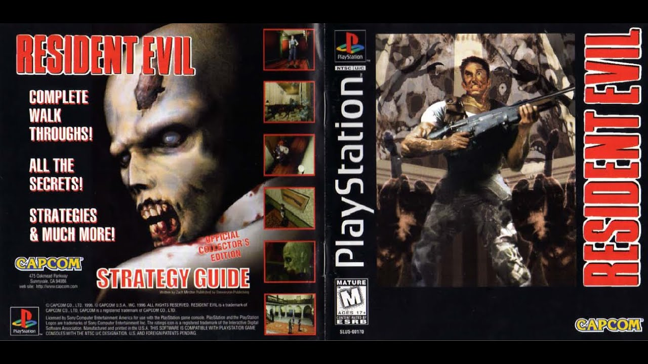 resident evil game manual psx instruction booklet youtube rh youtube com PlayStation Controller PlayStation Vita