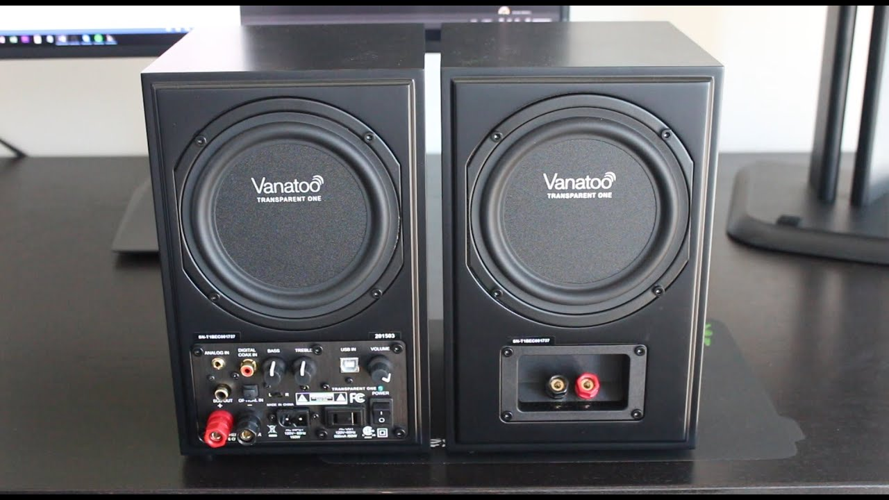 awesome computer speakers. the best computer speakers i\u0027ve ever owned - vanatoo t1\u0027s youtube awesome