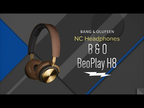 Bang & Olufsen BeoPlay H8 Black Wireless Headphones 1642526 - Overview