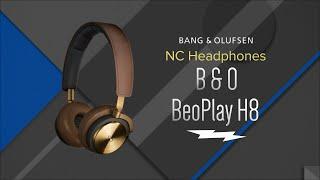 Bang & Olufsen BeoPlay H8 Black Wireless Headphones 1642526 - Overview