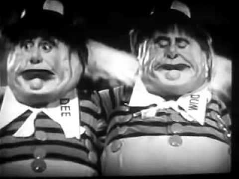 Alice in Wonderland 1933 Tweedledum & Tweedledee Jack Oakieavi
