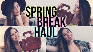 SPRING BREAK 2015 CLOTHING HAUL!