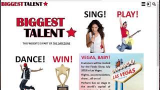 Biggest Talent Registration v1