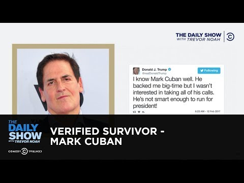 Download Youtube: Verified Survivor - Mark Cuban: The Daily Show