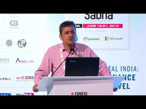 Dr. Omkar Rai DG STPI Speech at Express Technology Sabha 2015.