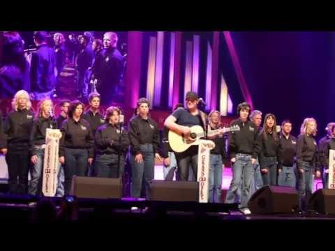 2013 ACM Lifting Lives Music Camp - Grand Ole Opry Performance with Jerrod Niemann