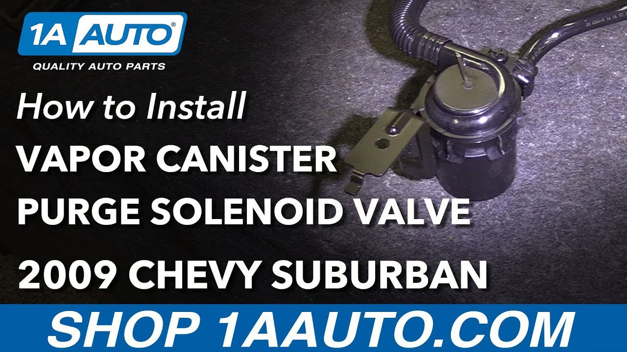 How to Replace Vapor Canister Purge Solenoid Valve 07-14 Chevy Suburban 1500