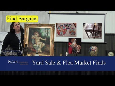 Yard Sale & Flea Market Finds:  Bargains And Values