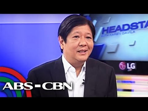 Bongbong on Marcos era: What am I to say sorry for?