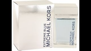 Extreme Blue by Michael Kors fragrance review