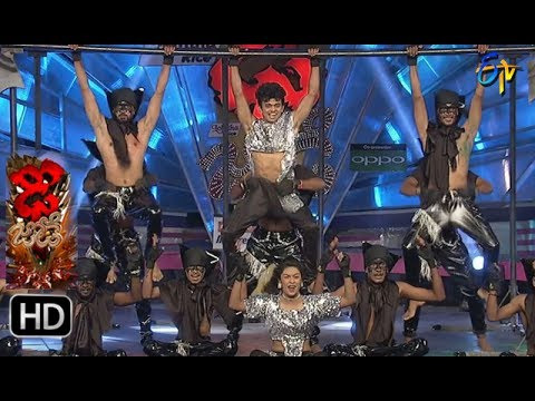 Sanketh and Priyanka Performance | Dhee Jodi | 7th June 2017 | ETV Telugu