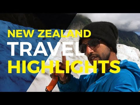 Travel Vlog: Best of New Zealand | Glacier, Bungee, Skydive and MORE!
