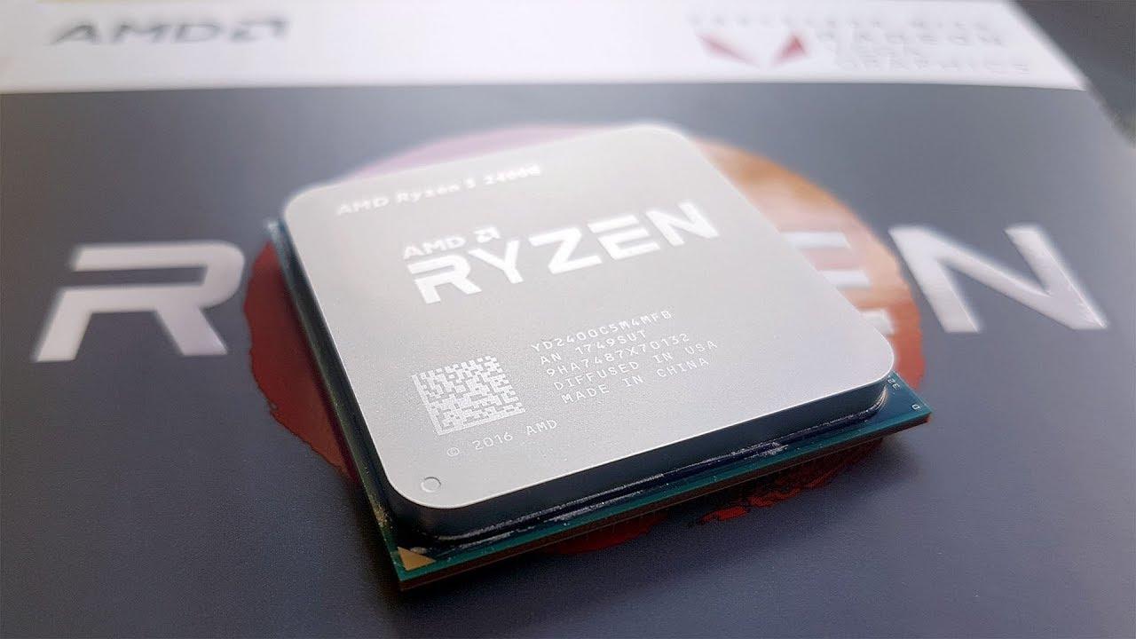 The Amd Ryzen 5 2400g With Radeon Rx Vega 11 Graphics Up Close Youtube
