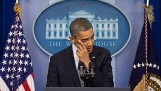 Obama Tearfully Mourns Children Killed in Sandy Hook Mass Shooting