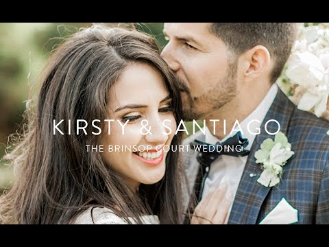 Kirsty & Santiago | Brinsop Court wedding video | Fine art wedding film
