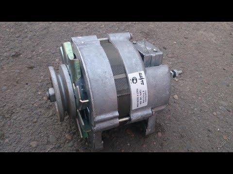 Как подсоединить генератор на уаз