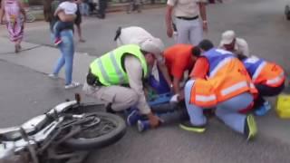 Persecución por presunta evasión de control de tránsito terminó en grave accidente