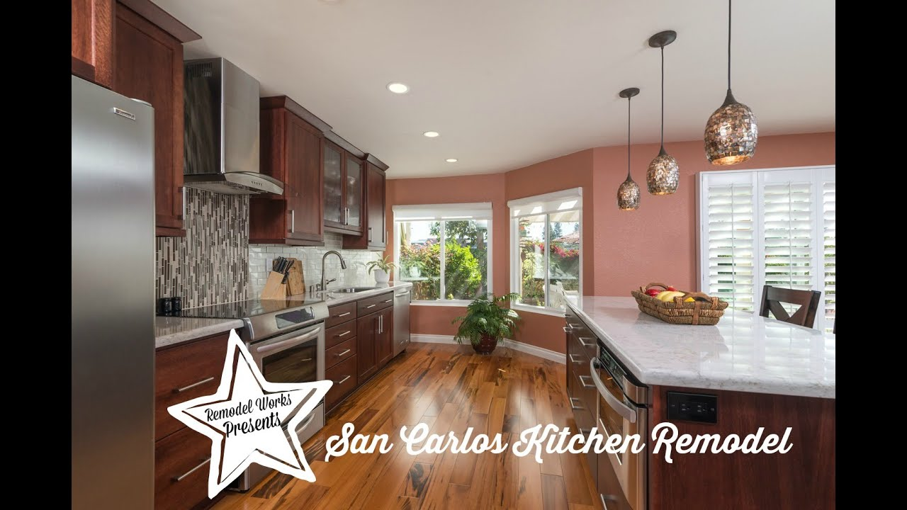 San Carlos Kitchen Remodel