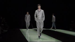 Emporio Armani - 2016 Spring Summer Menswear Collection