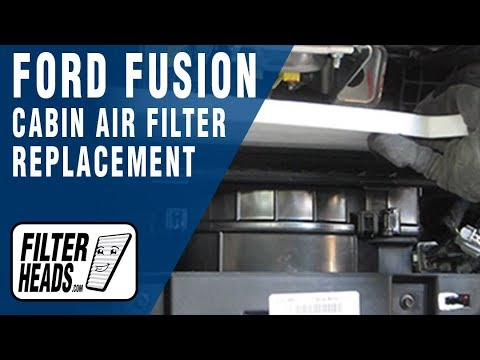 How to Replace Cabin Air Filter Ford Fusion