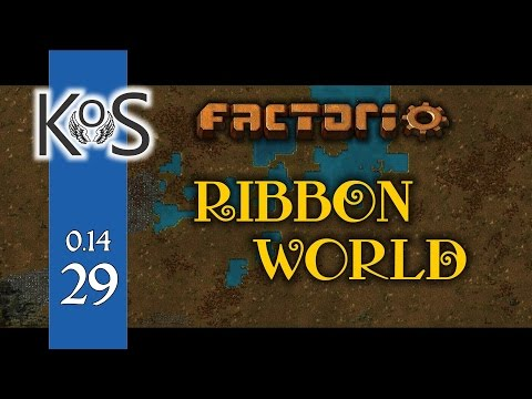 Factorio 0.14 Ribbon World - Ep 29 - Iron & Furnaces - Let's Play