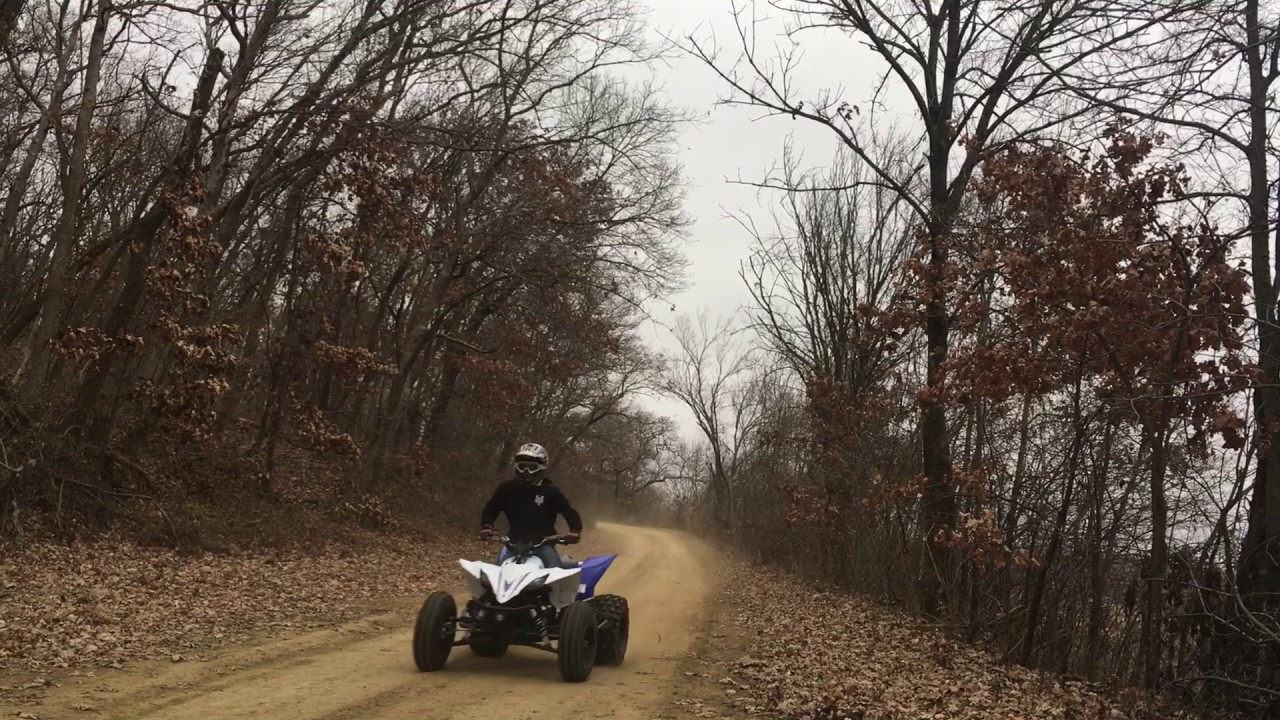 2016 Yamaha YFZ450R HMF Full competition Exhaust and HMF Fuel Optimizer by  620 Performance