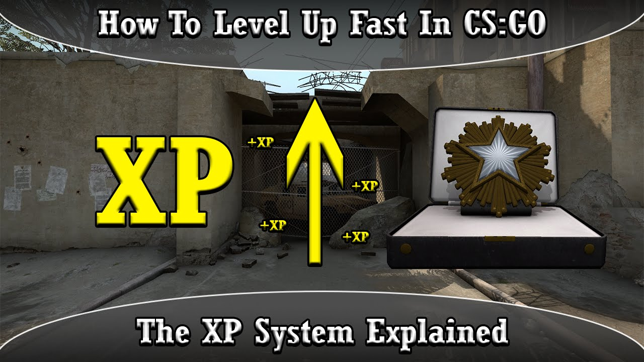 How To Level Up Fast In CSGO  The XP System Explained