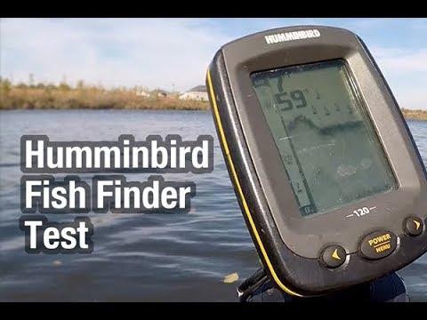 Humminbird Fish Finder Test