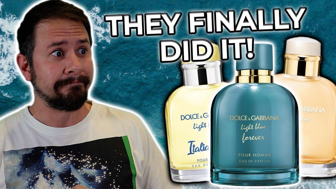 Dolce Gabbana Light Blue Forever The Best Light Blue Fragrance Ever Youtube