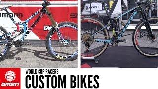 5 Custom Bikes At The XC And DH World Cup Lenzerheide