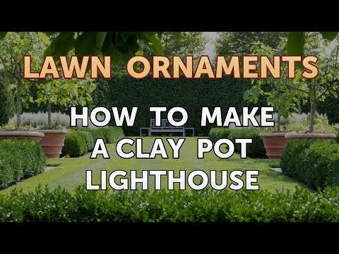 How to Make a Clay Pot Lighthouse - YouTube Plant Pot Lighthouse on clay pot lighthouse, diy flower pot lighthouse, plant container lighthouse, cat pot lighthouse,