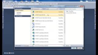 الدرس (1) برمجة وتصميم موقع شركة وهمية - نظرة على تقنية ASP.NET