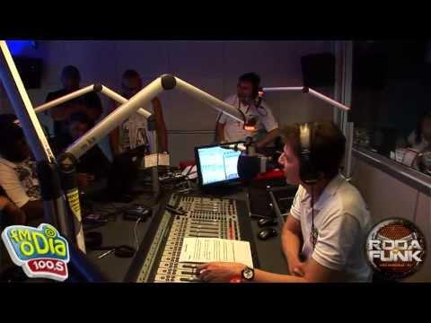 MC Marcelly e a Roda de Funk :: Ao vivo na semana maluca da FM O Dia ::