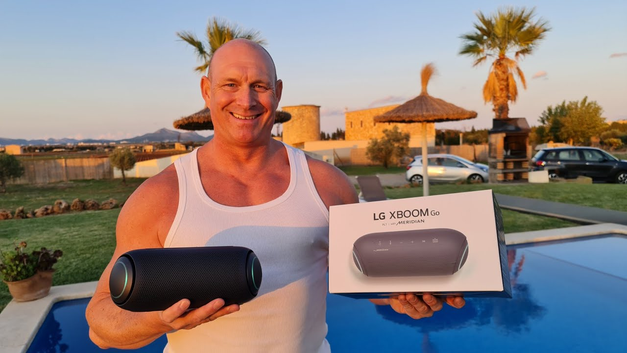 BEST portable speaker?LG PL7 sounds AMAZING,just listen to this !