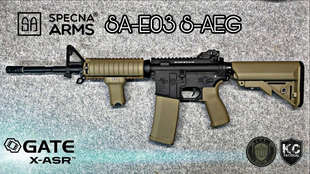 SPECNA ARMS/E&C SA-E03 S-AEG mit GATE X-ASR