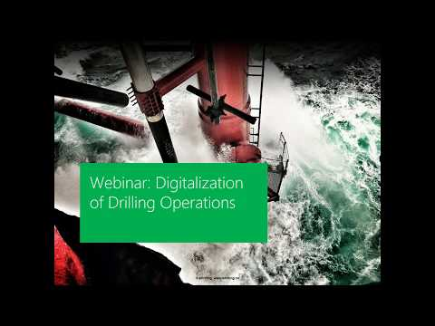 Webinar: Digitalization of Drilling Operations